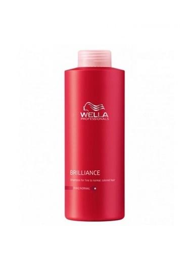 Wella Brilliance Fine Şampuan 1000 Ml Renksiz
